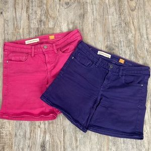 Pilcro Shorts Bundle of Two Anthropologie Brand
